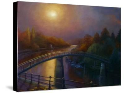 Eel Pie Dusk 2013-Lee Campbell-Stretched Canvas Print