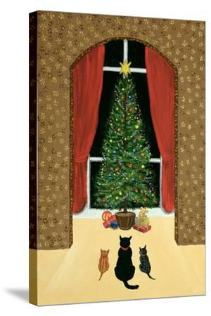 The Christmas Tree-Margaret Loxton-Stretched Canvas Print