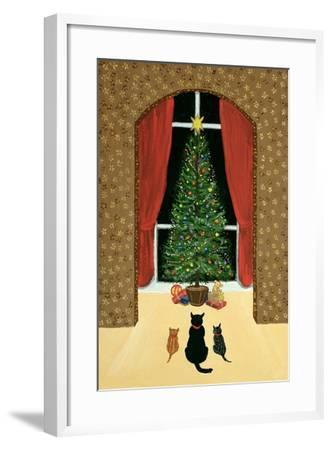 The Christmas Tree-Margaret Loxton-Framed Giclee Print