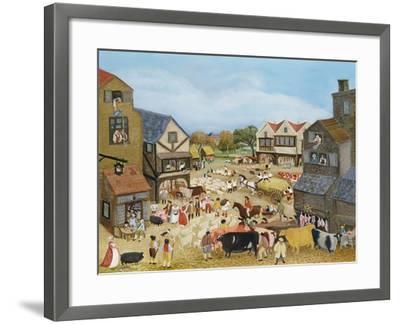 Market Day-Margaret Loxton-Framed Giclee Print