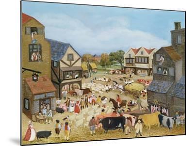 Market Day-Margaret Loxton-Mounted Giclee Print