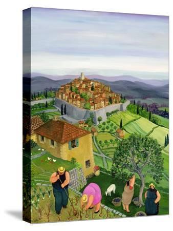 St. Paul de Vence-Margaret Loxton-Stretched Canvas Print