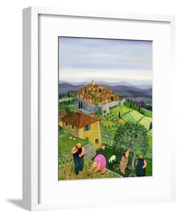 St. Paul de Vence-Margaret Loxton-Framed Giclee Print