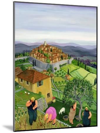 St. Paul de Vence-Margaret Loxton-Mounted Giclee Print