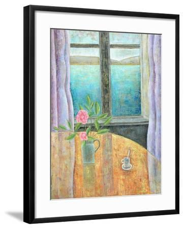 Still Life in Window with Camellia, 2012-Ruth Addinall-Framed Giclee Print