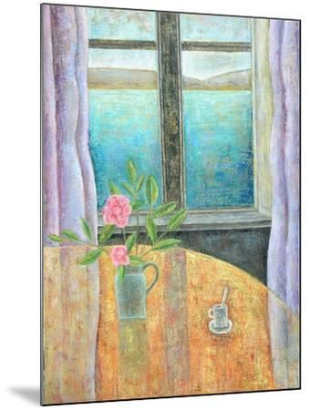 Still Life in Window with Camellia, 2012-Ruth Addinall-Mounted Giclee Print