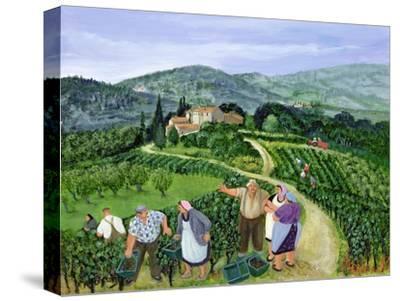 Chianti Classico, Villa Trasqua-Margaret Loxton-Stretched Canvas Print
