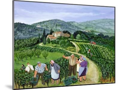 Chianti Classico, Villa Trasqua-Margaret Loxton-Mounted Premium Giclee Print