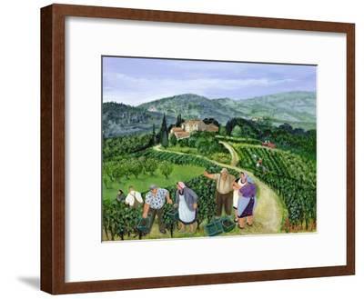 Chianti Classico, Villa Trasqua-Margaret Loxton-Framed Premium Giclee Print