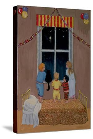 Waiting for Father Christmas-Margaret Loxton-Stretched Canvas Print