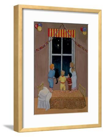 Waiting for Father Christmas-Margaret Loxton-Framed Giclee Print