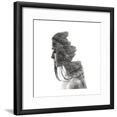 Ancient Love III-Aneta Ivanova-Framed Giclee Print