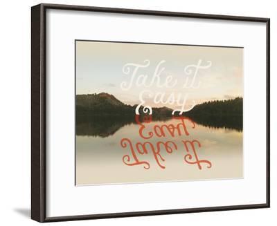 Take it Easy-Danielle Kroll-Framed Giclee Print