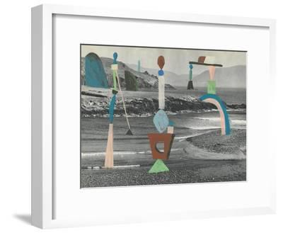 Sea Glass-Danielle Kroll-Framed Giclee Print