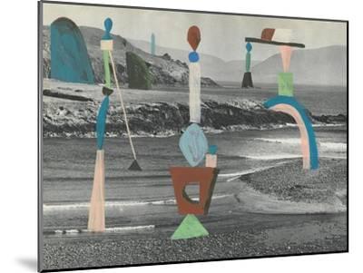 Sea Glass-Danielle Kroll-Mounted Giclee Print