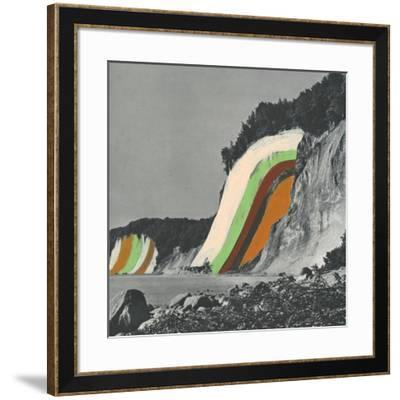 Coloring Cliffs-Danielle Kroll-Framed Giclee Print