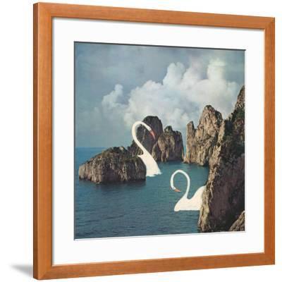 Lost but not Worried-Danielle Kroll-Framed Giclee Print