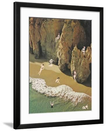La Costa delle Donne-Danielle Kroll-Framed Giclee Print