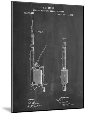 Dentists Drill Patent--Mounted Art Print