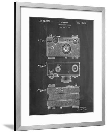 Fassin Photographic Camera Patent--Framed Art Print