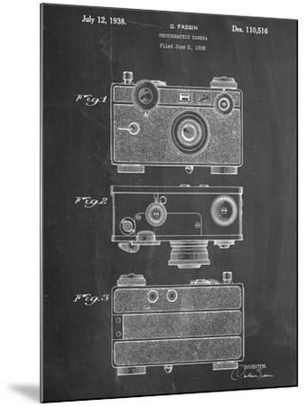 Fassin Photographic Camera Patent--Mounted Art Print