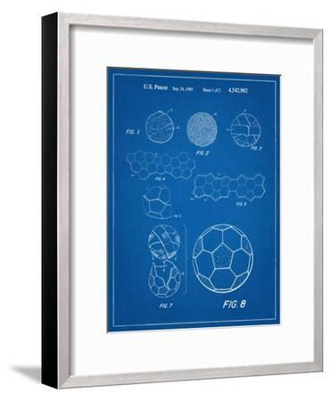 Soccer Ball Patent--Framed Art Print