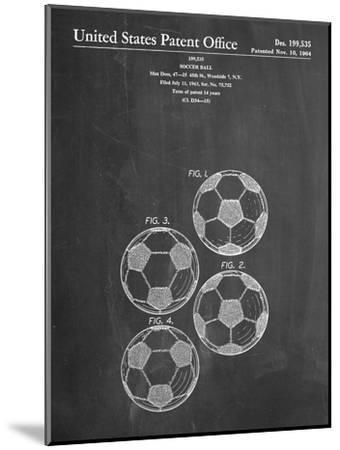 Soccer Ball Patent--Mounted Art Print