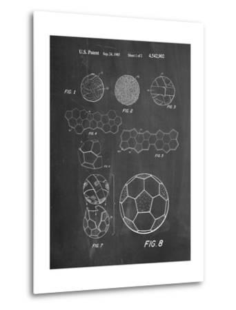 Soccer Ball Patent, How To Make--Metal Print