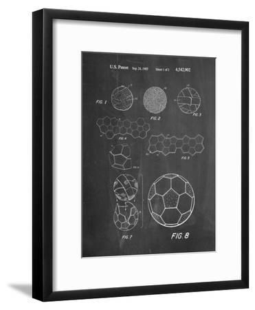 Soccer Ball Patent, How To Make--Framed Art Print