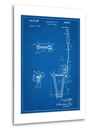 Guitar Vibrato, Wammy Bar Patent--Metal Print