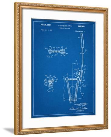 Guitar Vibrato, Wammy Bar Patent--Framed Art Print