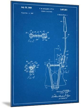 Guitar Vibrato, Wammy Bar Patent--Mounted Art Print