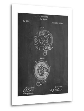 Tape Measure Patent--Metal Print