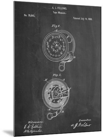 Tape Measure Patent--Mounted Art Print