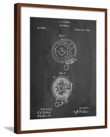 Tape Measure Patent--Framed Art Print