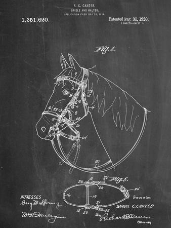Horse Bridle Patent--Art Print