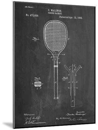 Tennis Racket Patent--Mounted Art Print