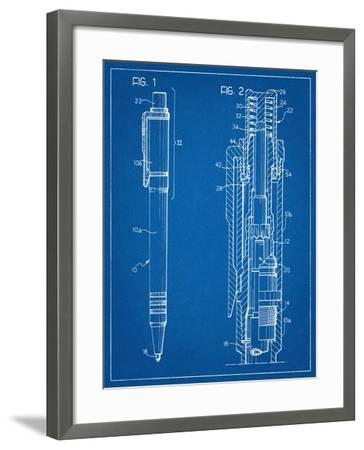 Ballpoint Pen Patent--Framed Art Print