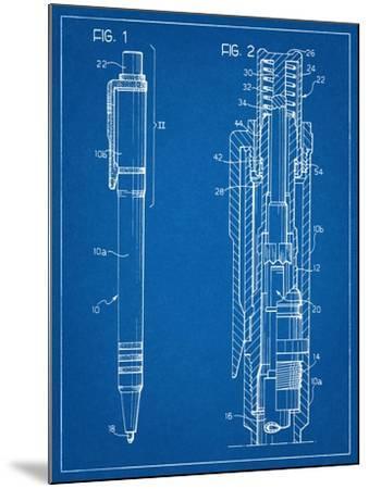 Ballpoint Pen Patent--Mounted Art Print