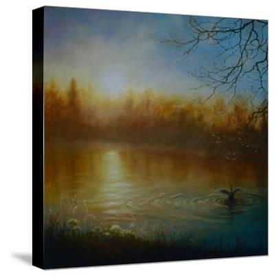 Thames Sunrise, 2004-Lee Campbell-Stretched Canvas Print