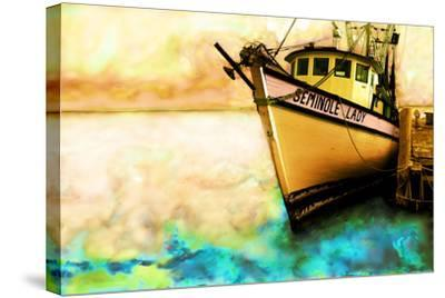 Boat V-Ynon Mabat-Stretched Canvas Print