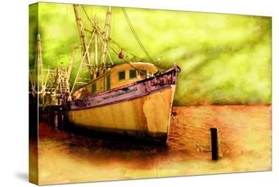 Boat VI-Ynon Mabat-Stretched Canvas Print