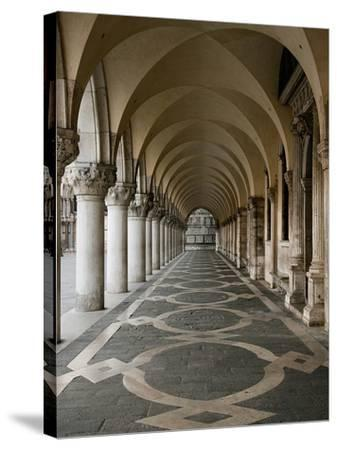 Ducale Palace-Shelley Lake-Stretched Canvas Print