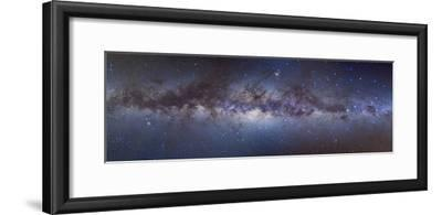 Panorama View of the Center of the Milky Way--Framed Photographic Print