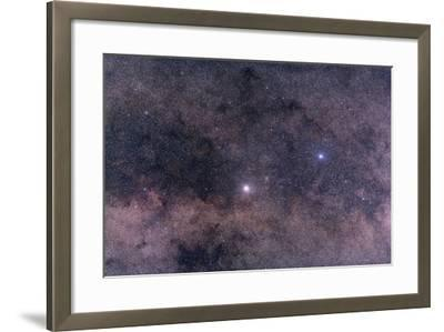 Alpha and Beta Centauri in the Southern Constellation of Centaurus--Framed Photographic Print