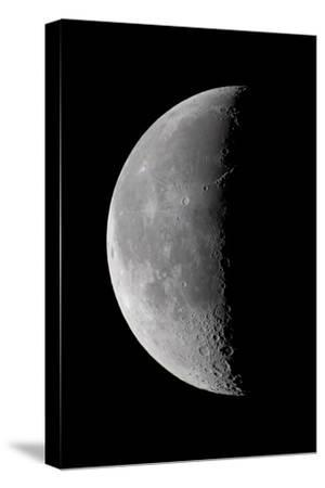 23 Day Old Waning Moon--Stretched Canvas Print