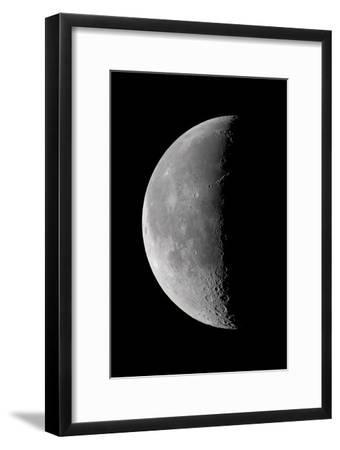 23 Day Old Waning Moon--Framed Photographic Print