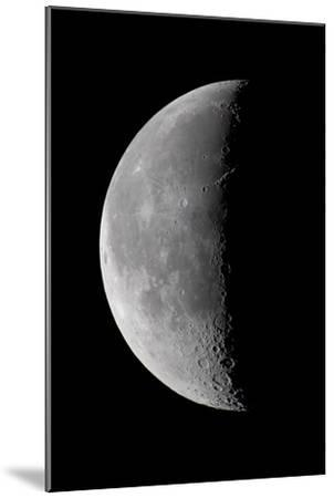 23 Day Old Waning Moon--Mounted Photographic Print