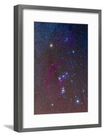 The Orion Constellation--Framed Photographic Print