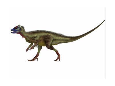 Hypsilophodon Is an Ornithopod Dinosaur from the Cretaceous Period--Framed Art Print